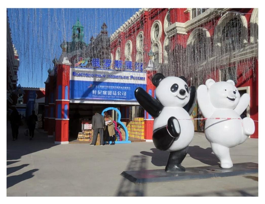 Торгово-экономическая выставка в китае