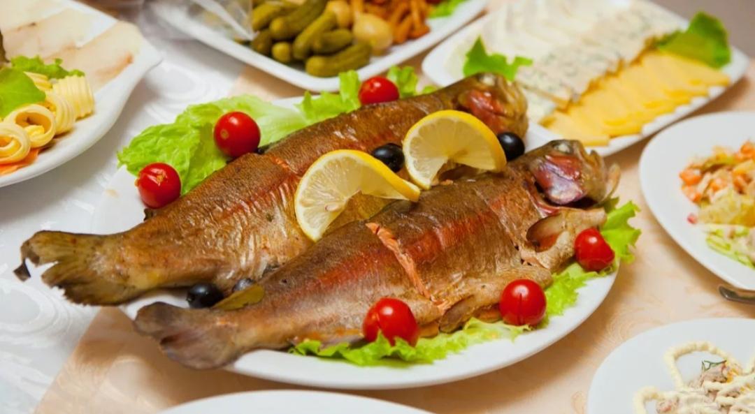 Горячего копчения рыба