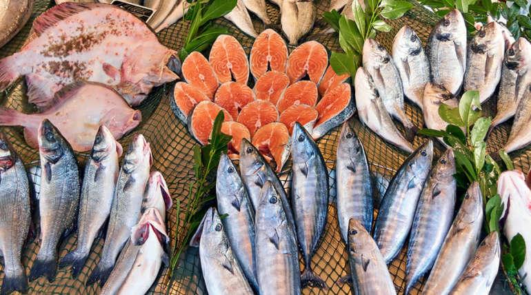 Рыба соленая, копченая
