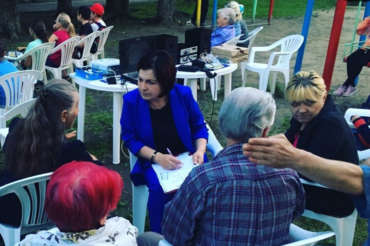 Встречи с избирателями
